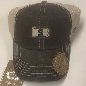 🆕 PENN STATE Vintage Logo Baseball Hat Adjustable